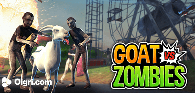 Goat against the zombies